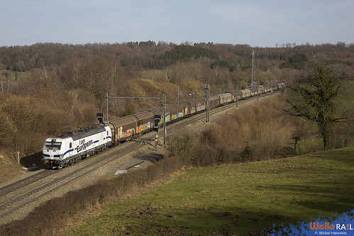 193 360 . DB Cargo . E 42500 . Gemmenich . 25.02.21.