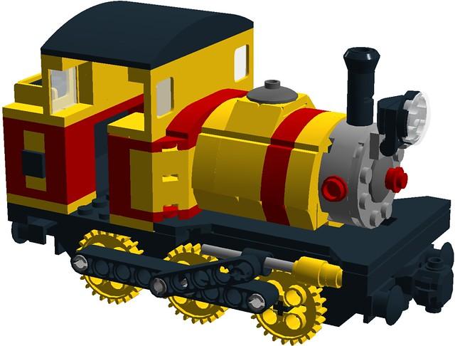 Wild West 0-6-0ST steam saddle tank switcher loco - front