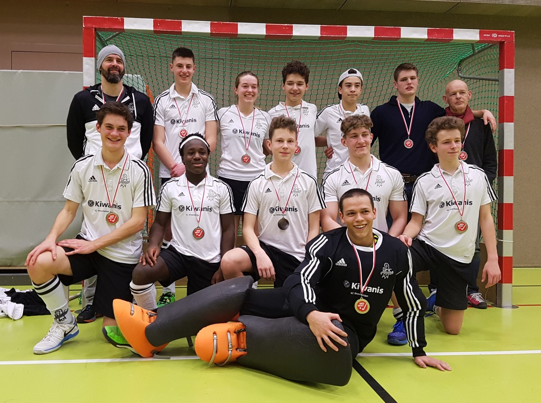 2018 Jugend U18 Vizemeister Halle