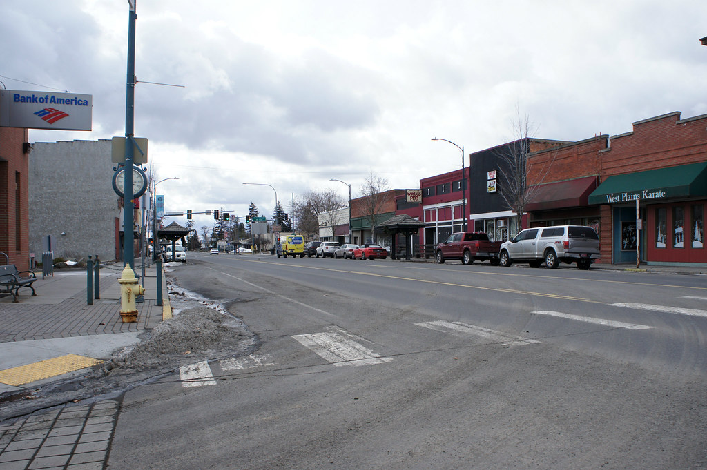1st Street at College Avenue