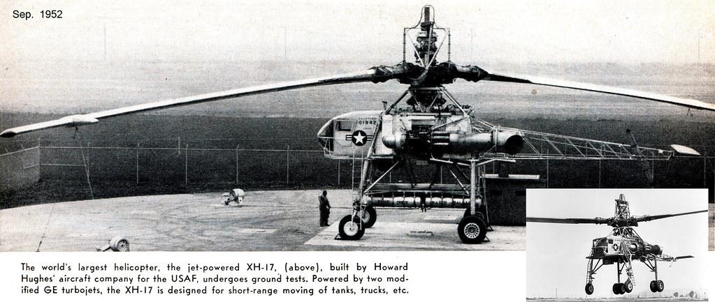 Hughes XH-17 Flying Crane / 1952