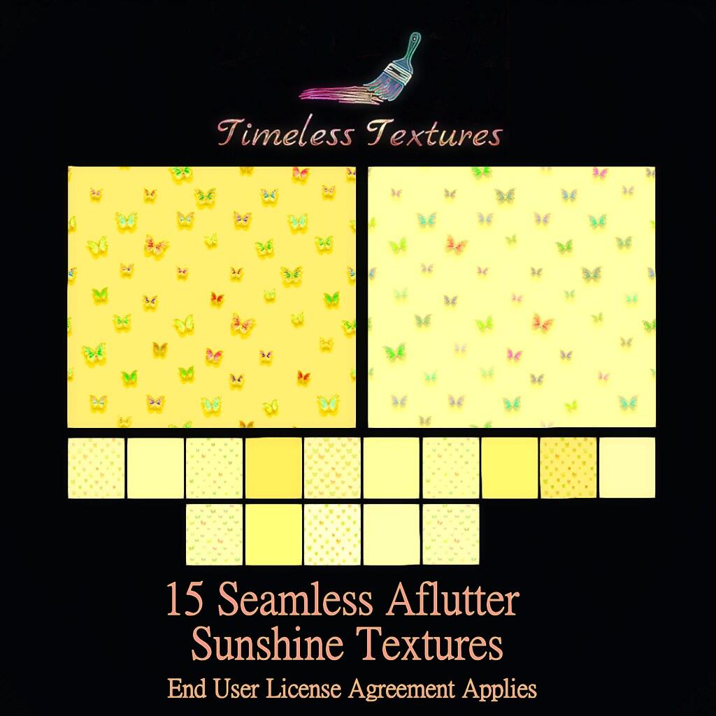 TT 15 Seamless Aflutter Sunshine Timeless Textures