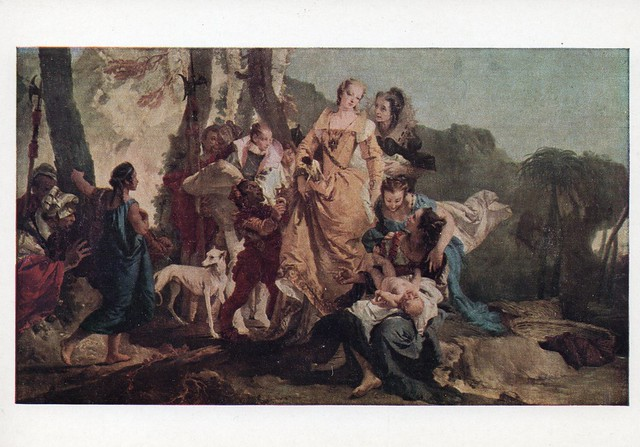 Giovanni Battista Tiepolo - ''The Finding of Moses'' (National Gallery of Scotland)