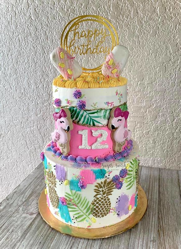 Cake by Sugar Swirls Shoppe