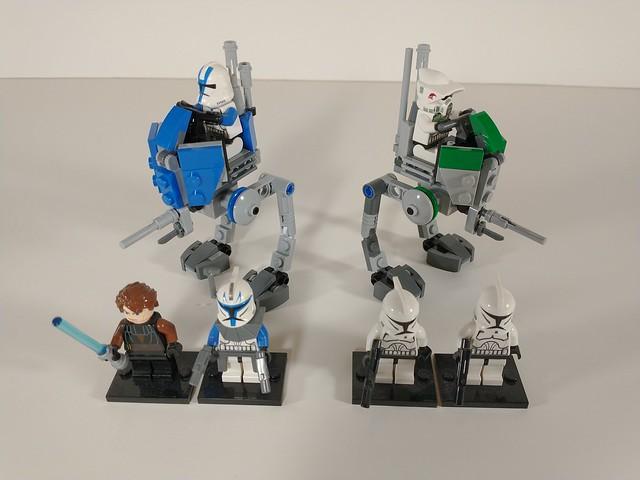Lego Minifigure scale ATRTs