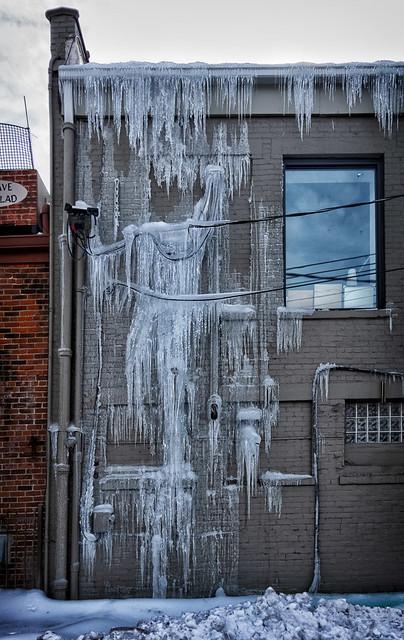 Found Ice Sculpture
