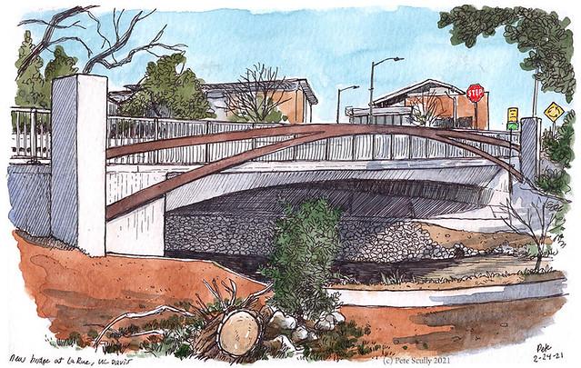 LaRue Bridge UC Davis