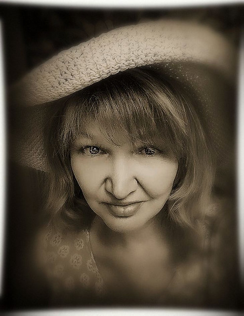 Portrait of Beautiful Diane