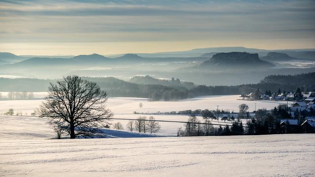 Frozen lands - gefrorendes Land