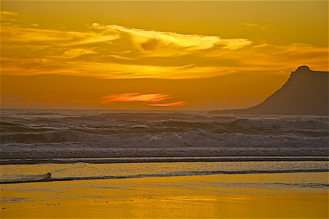 Beautiful Sunset A Pacific City, OR