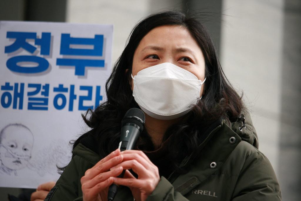 가습기살균제 살인기업 형사처벌과 책임 촉구 및 정부ㆍ국회의 해결 촉구 피해자 기자회견