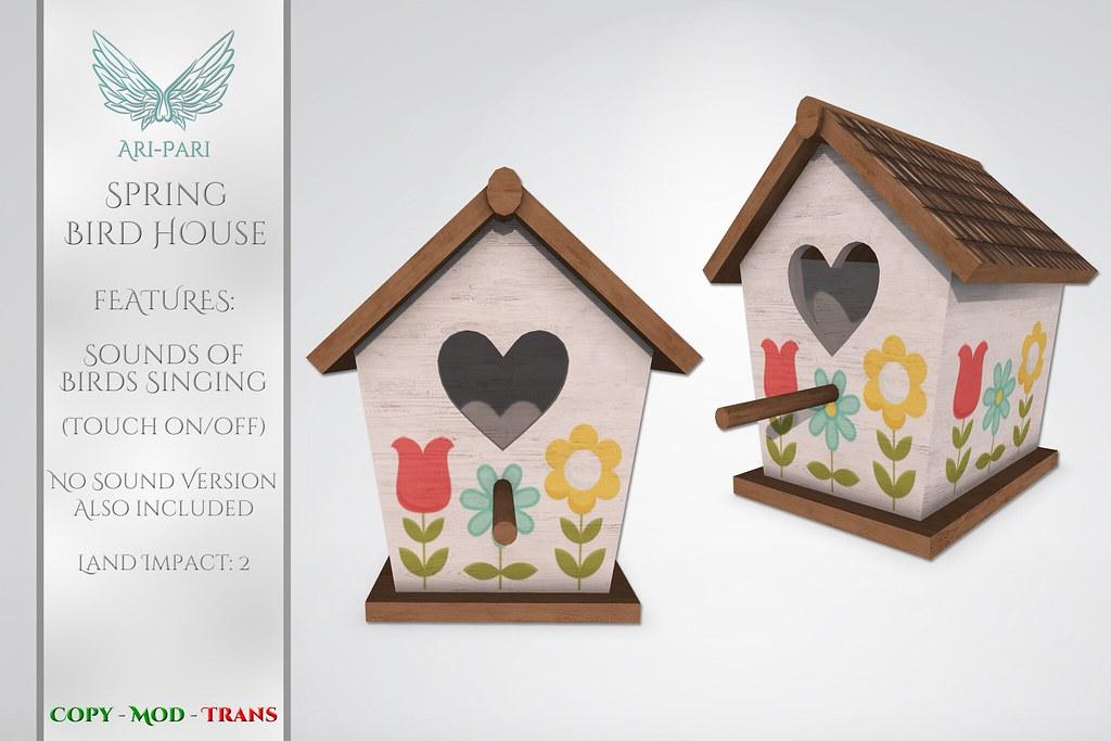 [Ari-Pari] Spring Bird House