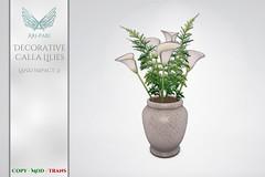 [Ari-Pari] Decorative Calla Lilies