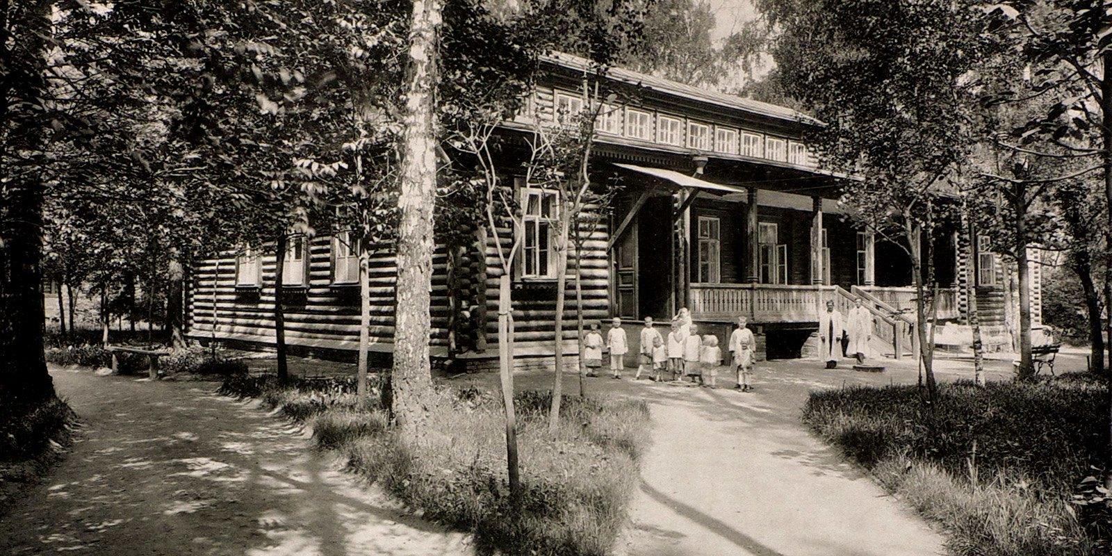 Детская больница Святого Владимира на Матросской улице. Дифтерийное отделение