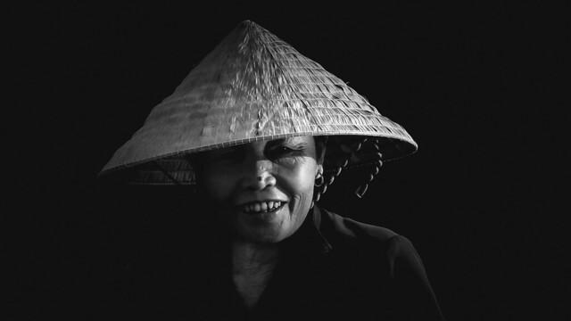 Vietnamese Portrait BW