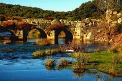 El viejo puente de Las Urrietas.