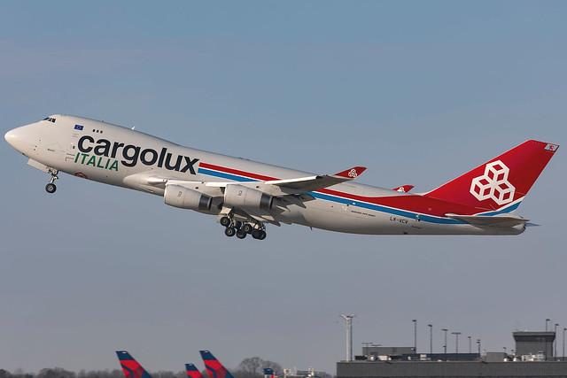 LX-VCV - Boeing 747-4R7F (SCD) - Cargolux Italia - KATL - 26 Feb 2021