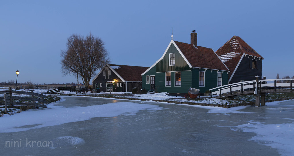 Winter at Zaanse Schans