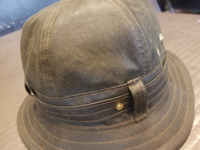 REW10 HAT WAXED COTTON