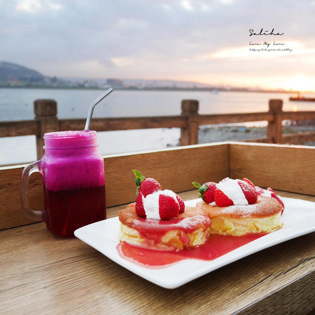 淡水隱藏版美食推薦Uncle Duncan景觀咖啡廳浪漫氣氛好淡水一日遊行程推薦 (1)