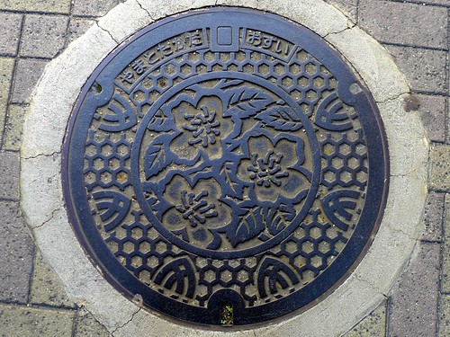 Yamatotakada Nara, manhole cover (奈良県大和高田市のマンホール4)