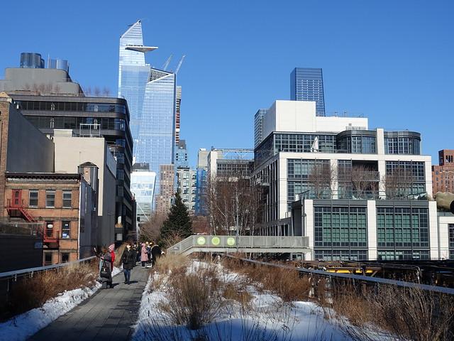 202102214 New York City Chelsea High Line Park