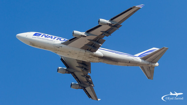 TLV - National Airlines Boeing 747-400F N756CA