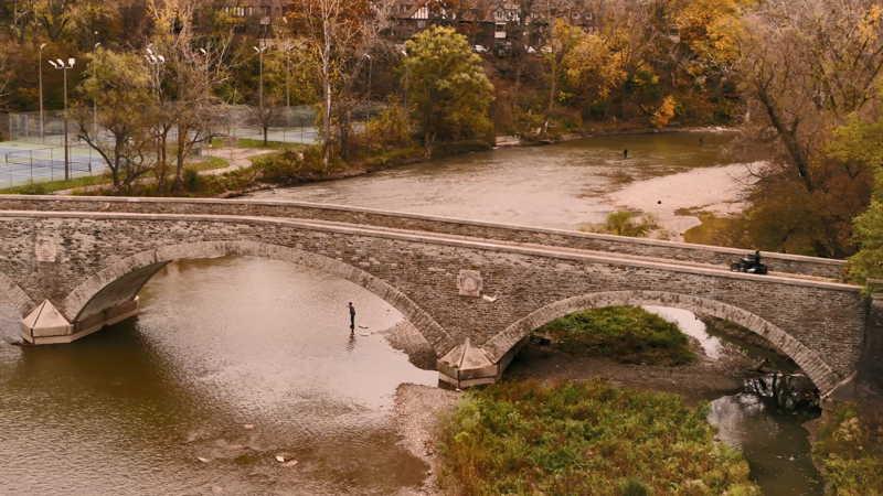 Old Mill Bridge Toronto