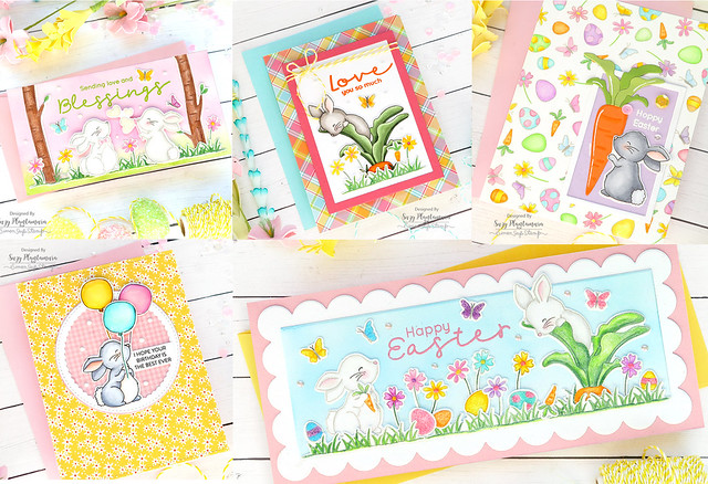 Bunny Blessings Cards