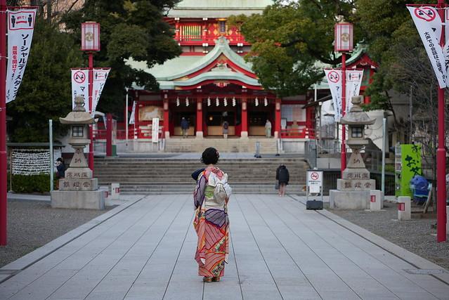 とある富岡八幡宮