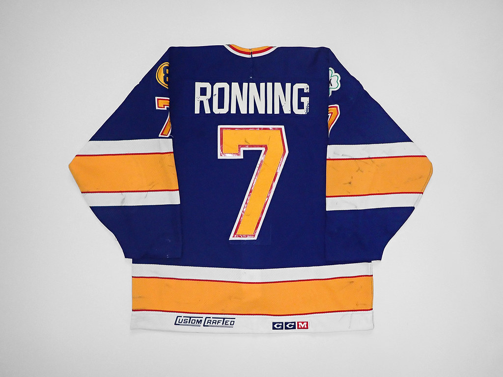 1988-89 St. Louis Blues Cliff Ronning