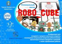 """Команда """"ЛИДЕР"""" - победитель  регионального митапа  в области робототехники """"ROBO_CUBE""""  для обучающихся Тамбовской области"""