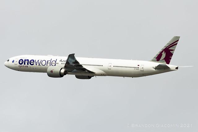 Qatar Airways Boeing 777-300ER A7-BAG