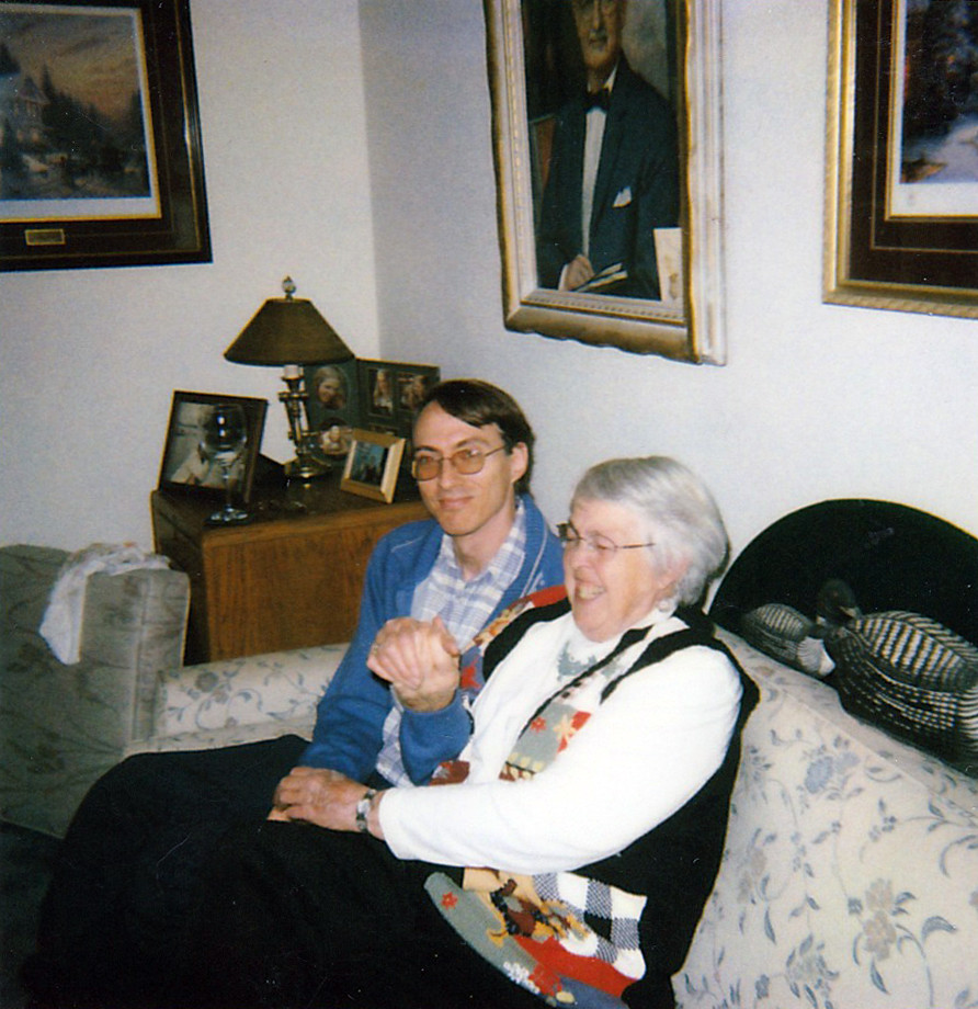 Mom and Me, October 2005