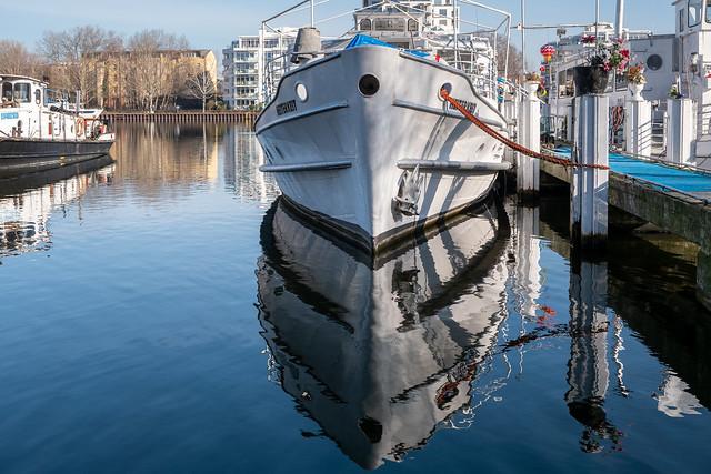 Berlin, Treptower Park: Verdopppelte