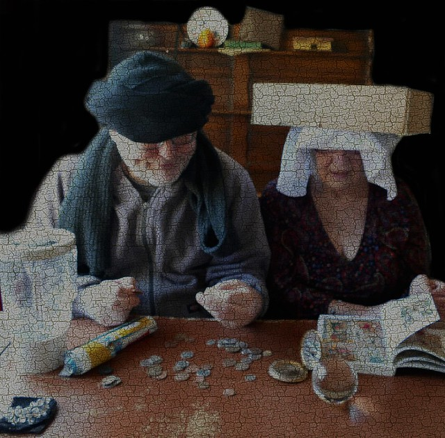 The Money Lender and his Mother