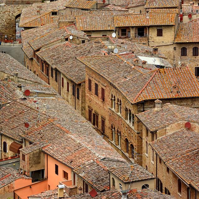 Italy - Tuscany - San Gimignano - Tower view 06_sq_DSC9043