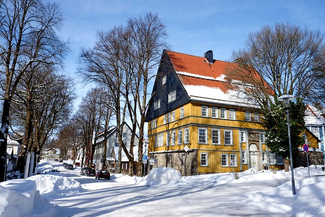 CLAUSTHAL-ZELLERFELD - HARZ ARCHITECTURE