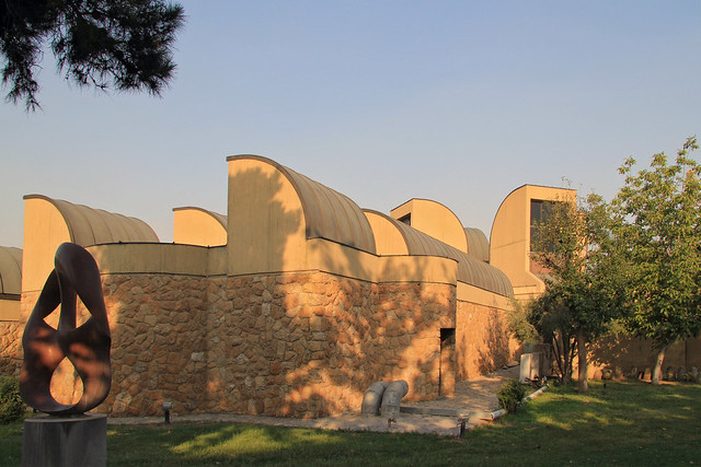 Tehran Museum of Contemporary Art side view