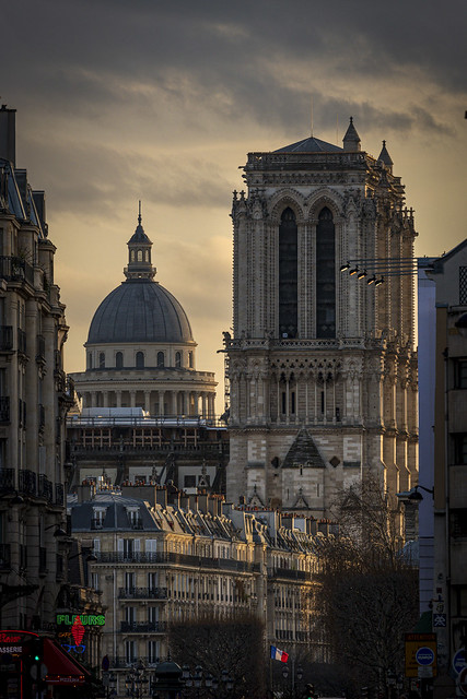 Notre Dame and the Pantheon