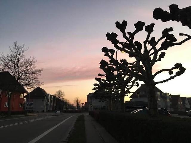 The Skies Make Us Slow Down