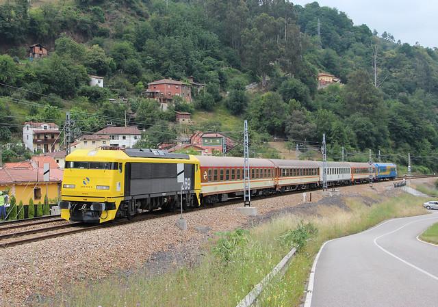 Tren de los 80