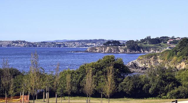 Parque de As Galeras. Oleiros. A Coruña. Spain
