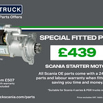 Scania Parts from Keltruck – Special Fitted Price