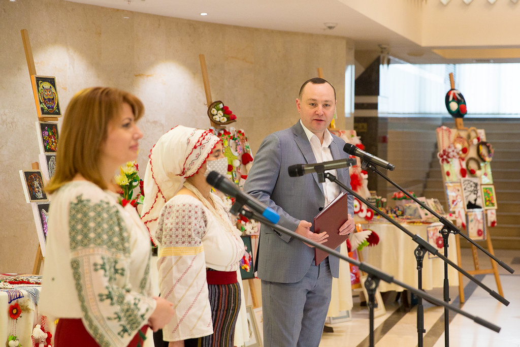 """26.02.2021 Inaugurarea celei de a II-a Ediție a Târgului de mărțișoare """"Primăvara care ne unește"""""""