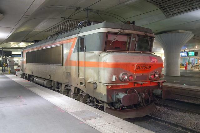 SNCF BB 7269 Paris Gare d'Austerlitz