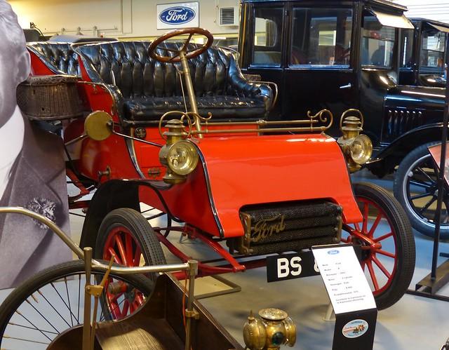 1903 Ford Model A Open Tourer red vr
