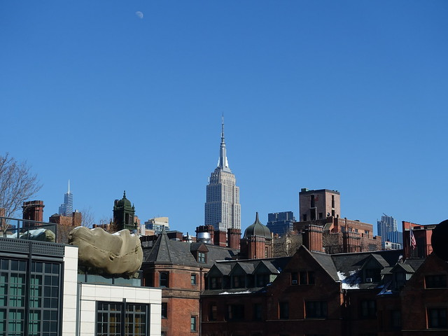 202102215 New York City Chelsea High Line Park and Empire State Building