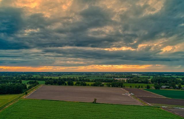 The Skies near Gemert, The Netherlands.