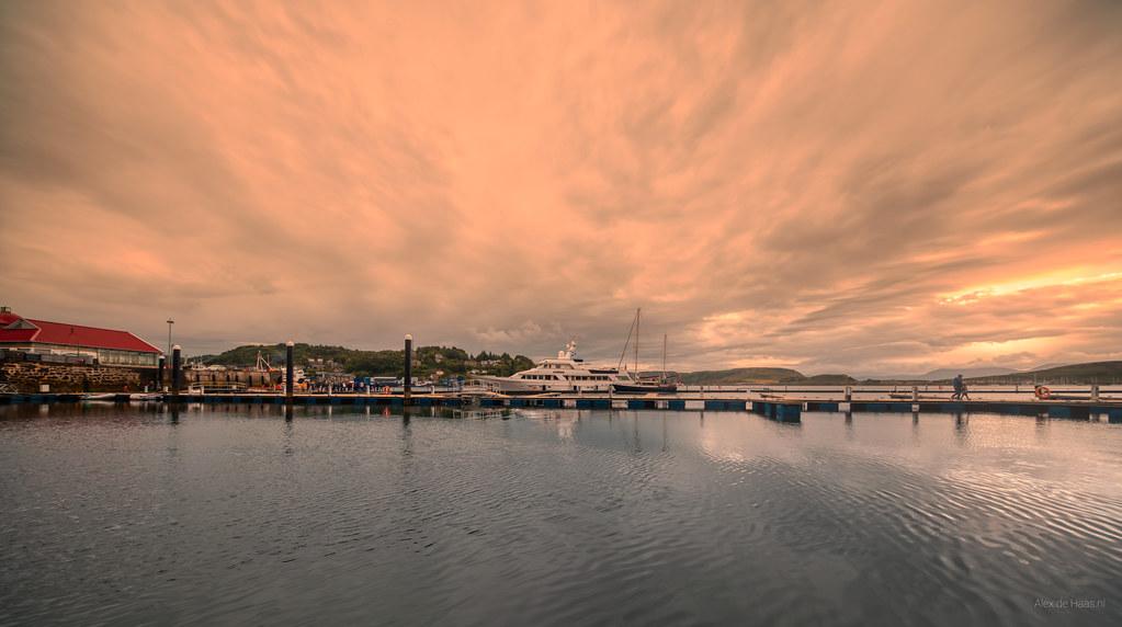 North Pier, Oban, Scotland.